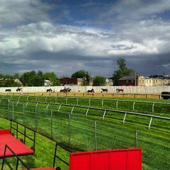Photo taken at Pimlico Race Course by Jon S. on 5/9/2013