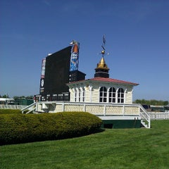 Photo taken at Pimlico Race Course by Jon S. on 5/5/2013
