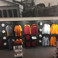 Photo taken at AS Roma Store by Ahmed F. on 3/28/2015