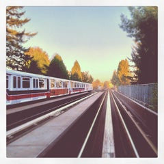 Photo taken at Commercial - Broadway SkyTrain Station by Ken C. on 10/5/2012