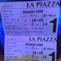Photo taken at La Piazza XXI by Radita I. on 11/16/2012