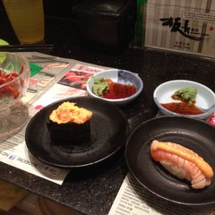 Photo taken at Itacho Sushi 板长寿司 by Bewbonk H. on 1/21/2015