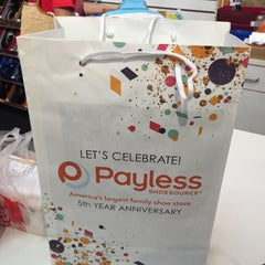 Photo taken at Payless Shoesource by Jhoana N. on 1/2/2016