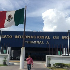 Photo taken at Aeropuerto Internacional de Monterrey General Mariano Escobedo (MTY) by Christiaan O. on 7/15/2013