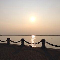 Photo taken at Lake Erie by Natalia G. on 6/9/2015