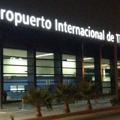 Photo taken at Aeropuerto Internacional de Tijuana (TIJ) by Enrique V. on 11/28/2012