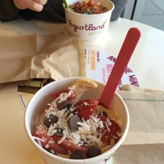 Photo taken at Yogurtland by Alexandra L. on 1/20/2015