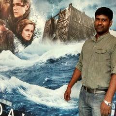 Photo taken at BIG CINEMAS by Hari K. on 3/29/2014
