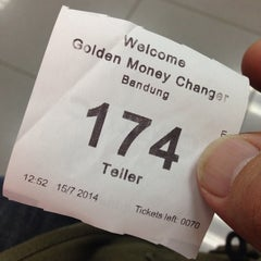 Photo taken at Golden Money Changer by deny r. on 7/15/2014
