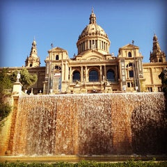 Photo taken at Museu Nacional d'Art de Catalunya (MNAC) by Salem A. on 5/4/2013
