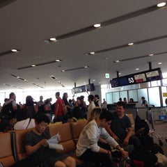 Photo taken at NRT - GATE 53 (Terminal 1) by Nikki C. on 7/29/2014