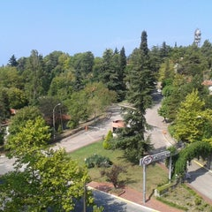 Photo taken at Goztepe by Şiirbaz... on 8/11/2013