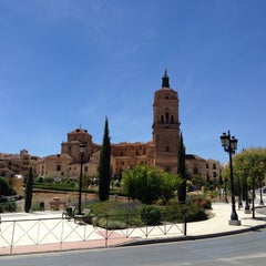 Photo taken at Catedral de Guadix by Ketil I. on 7/8/2014