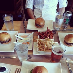 Photo taken at Umami Burger by Eric D. on 4/3/2013