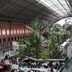 Photo taken at Estación de Madrid-Puerta de Atocha by Aissam B. on 4/25/2013