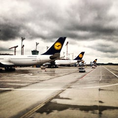 "Photo taken at München Flughafen ""Franz Josef Strauß"" (MUC) by Peter A. on 6/22/2013"