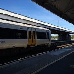 Photo taken at Ramsgate Railway Station (RAM) by Paul W. on 4/21/2015