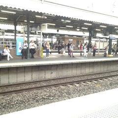 Photo taken at Strathfield Station (Platforms 7 & 8) by Paul W. on 4/8/2013