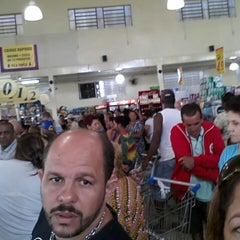 Photo taken at Supermercados Tridico by Marta S. on 3/29/2013