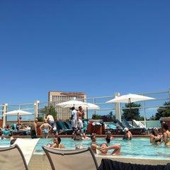 Photo taken at Water Club Pool by Jared B. on 7/5/2014