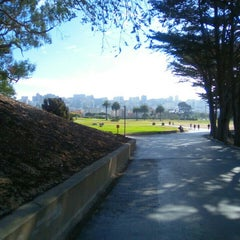 Photo taken at Allyne Park by Petr S. on 9/28/2015