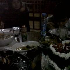 Photo taken at Restoran & Wisata Air Alam Sari by Laila Y. on 7/23/2014