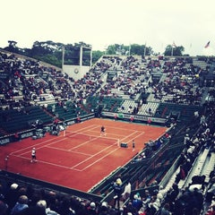 Photo taken at Court Suzanne Lenglen by Puxan B. on 5/30/2013