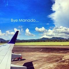 Photo taken at Sam Ratulangi International Airport (MDC) by Meilisa L. on 6/5/2013