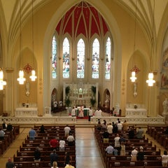 Photo taken at S.S. Peter And Paul Catholic Church by Matthew S. on 6/9/2013