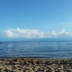 Photo taken at Ысык-Көл / Иссык-Куль / Issyk Kul by Albina D. on 7/22/2013