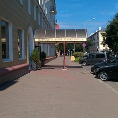 Photo taken at Volkhov Hotel Veliky Novgorod by Max T. on 8/20/2013