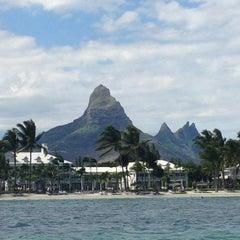 Photo taken at Sugar Beach Mauritius Hotel Resort & Spa by Alexander G. on 8/20/2013
