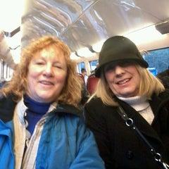 Photo taken at RER Saint-Gratien [C] by Carol on 12/27/2013