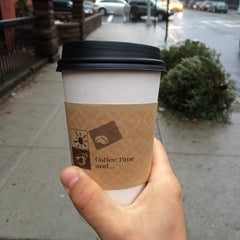 Photo taken at NYC Love Coffee by E H. on 1/11/2014