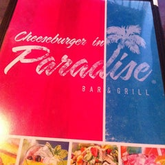Photo taken at Cheeseburger in Paradise - Secaucus by Hector C. on 3/28/2013