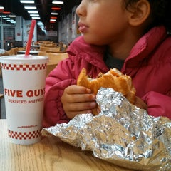 Photo taken at Five Guys by tanya j. on 11/11/2014
