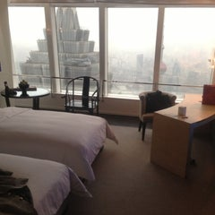 Photo taken at Park Hyatt Shanghai by Rick C. on 11/29/2012
