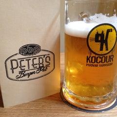 Photo taken at Peter's Burger Pub by Vojtech M. on 5/2/2013