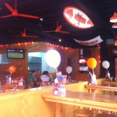 Photo taken at Hooters by Felipe G. on 8/19/2012