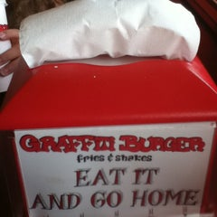 Photo taken at Graffiti Burger by Mr. F. on 7/16/2011