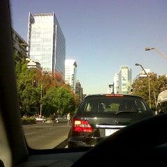 Photo taken at Apoquindo con Malaga by Flavio E. on 10/26/2011