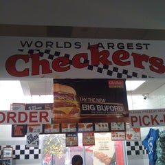 Photo taken at Checkers Drive-In Restaurant by Desiree W. on 3/14/2011