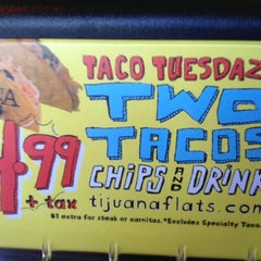 Photo taken at Tijuana Flats by Pete W. on 1/17/2012
