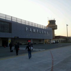 Photo taken at Aeropuerto de Pamplona (PNA) by Pachi M. on 3/27/2012