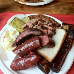 Photo taken at Iron Works BBQ by Mark S. on 6/21/2012