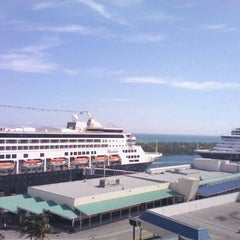 Photo taken at Port Everglades by Luthiano V. on 1/27/2012