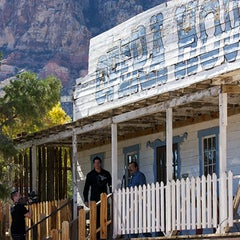 Photo taken at Bonnie Springs Ranch by Travel Channel on 4/9/2012