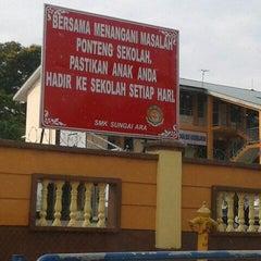 Photo taken at SMK Sungai Ara by Jenny K. on 3/28/2012