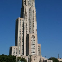 Photo taken at University of Pittsburgh by Michael S. on 7/25/2011