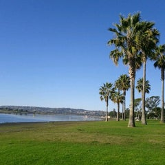 Photo taken at Mission Bay by Gina T. on 11/26/2011